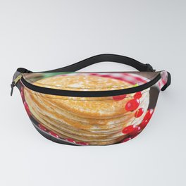 Sweet pancakes with jam Fanny Pack