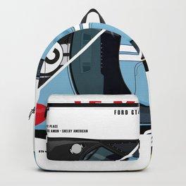 GT40 1966 Triple Victory Backpack