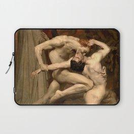 "William-Adolphe Bouguereau ""Dante and Virgile"" Laptop Sleeve"
