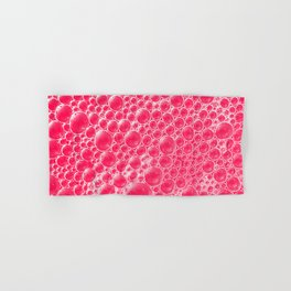 Champagne Bubbles Collection: #5 – Candy Apple Red Hand & Bath Towel