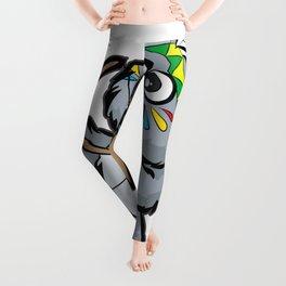 CUTE INDIAN KOALA BEAR Bow and Arrow Cartoon Gift Leggings