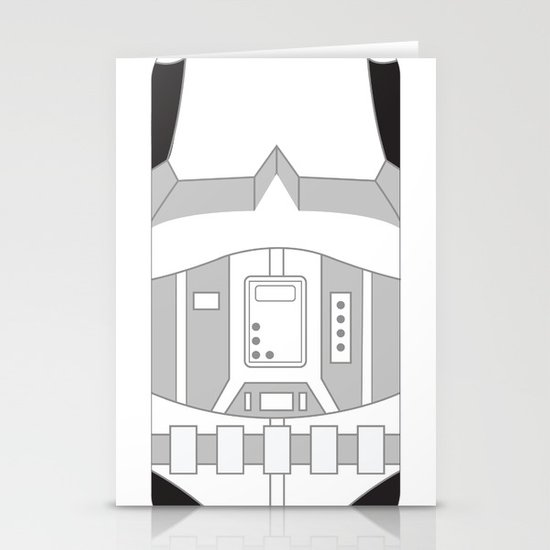Stormtrooper iPhone Case Stationery Cards