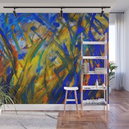 Abstraction Wall Mural