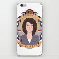 heymonster iPhone & iPod Skins featuring Ellen Ripley by heymonster