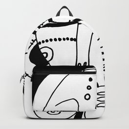 Goddess Doodle 2019-6 by Kathy Morton Stanion Backpack