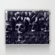 Skulls - Paris Catacombs, tinted version Laptop & iPad Skin