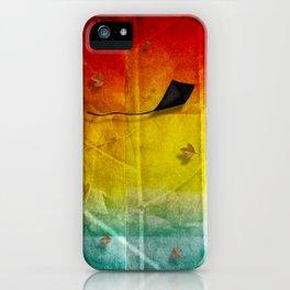 Black Bird No. 3 iPhone Case