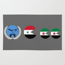 United Nations is watching Syria Rug