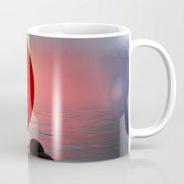 just red - square format Coffee Mug