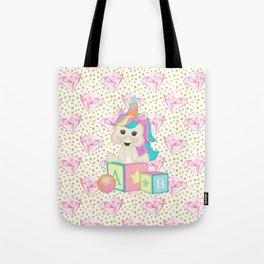 Baby Unicorn Tote Bag