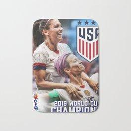 2019 World Cup Champions Bath Mat