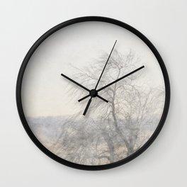 Misty Morn Wall Clock