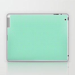 Mint Green Abstract V Laptop & iPad Skin