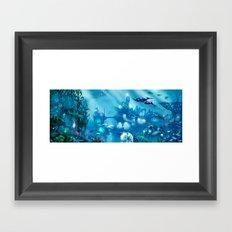 Deep Below Framed Art Print