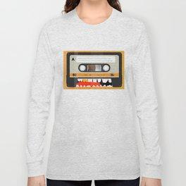 The cassette tape golden tooth Long Sleeve T-shirt