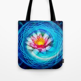 Wellness Water Lily Tote Bag