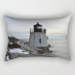 Castle Hill Lighthouse, Newport Rhode Island Rectangular Pillow
