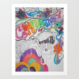 Comfortably Numb Art Print