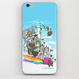 Release The Cats iPhone Skin