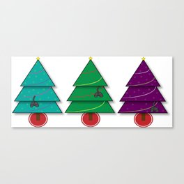 Christmas Cats Canvas Print