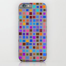 color rectangles 011 iPhone Case