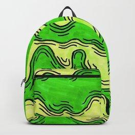 Green slime szn Backpack