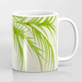 Lime Palms Coffee Mug