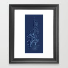 Angel at rest Framed Art Print