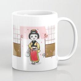 Chaya Musume Coffee Mug