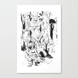GOTG Illustration Canvas Print