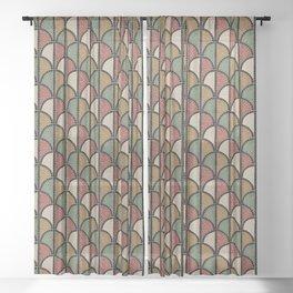 Mosaic - Roman (Pompeii) Sheer Curtain