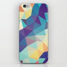Coral Reef Tris iPhone & iPod Skin