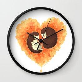 Hibernate with Me Wall Clock