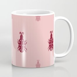PINK BEETLE Coffee Mug