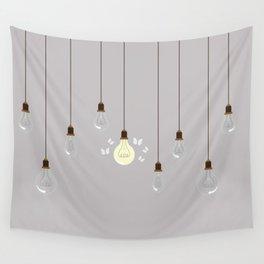 Light Bulbs Wall Tapestry