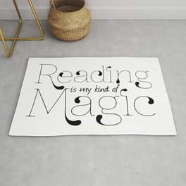 Reading Is My Kind Of Magic Rug