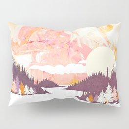 Winter Abstract Pillow Sham