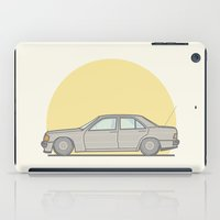 mercedes iPad Cases featuring Mercedes-Benz 190E 2.5 Cosworth vector illustration by Underground Worm