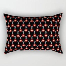 Anne Boleyn Tudor Rose Rectangular Pillow