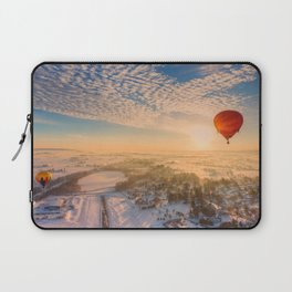 Floating Sunrise Laptop Sleeve