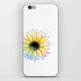 Single Sunflower iPhone Skin
