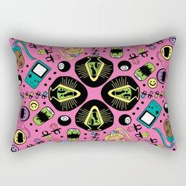 90s Girl Rectangular Pillow