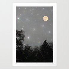 Moon Dust Art Print