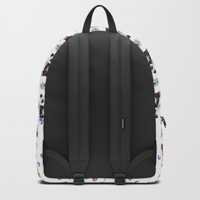 Garden Panda Pattern Backpack
