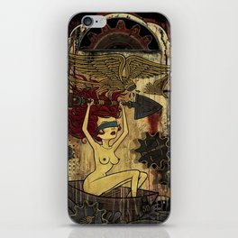Paul Chatem_ Justice Set Adrift iPhone Skin