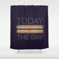 Allways positive Shower Curtain