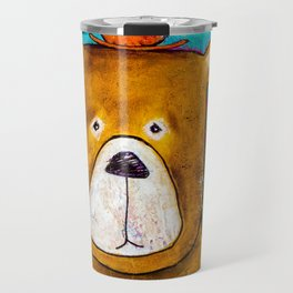 A Bear With A Sore Head Travel Mug