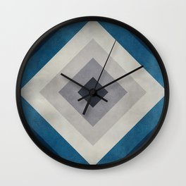 Greece Hues Tunnel 2 Wall Clock