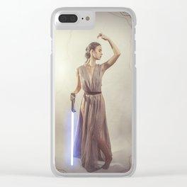 Art Nouveau Scavenger 4 Clear iPhone Case
