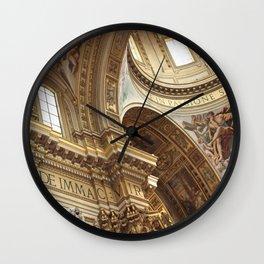 pray for love Wall Clock